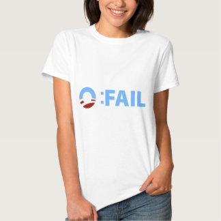 Anti-Obama: Barack Obama Fail Tee Shirts