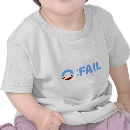 Anti-Obama: Barack Obama Fail Tee Shirt