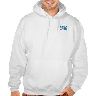 Anti-Obama - Bend Over O Hooded Sweatshirts