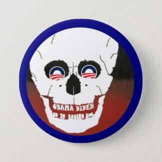 Anti-Obama-Biden 7.5 Cm Round Badge