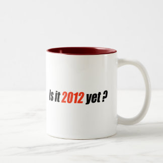 Anti-Obama Bumpersticker - 2012 Yet Two-Tone Coffee Mug