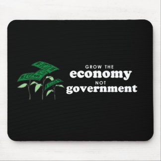 Anti-Obama Bumpersticker - Grow the economy not th Mouse Pads