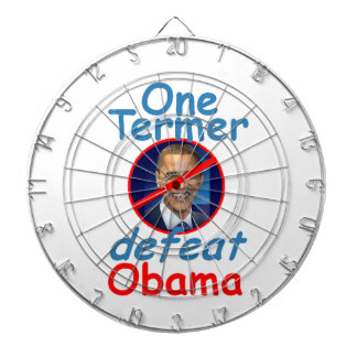 Anti Obama Dartboard With Darts
