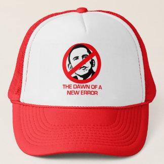 Anti-Obama - Dawn of new Error Trucker Hat