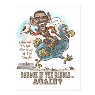 Anti-Obama Dodo Extinction 2012 Postcard