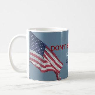 Anti Obama Don't Blame Me I Vote for Ron Paul Basic White Mug