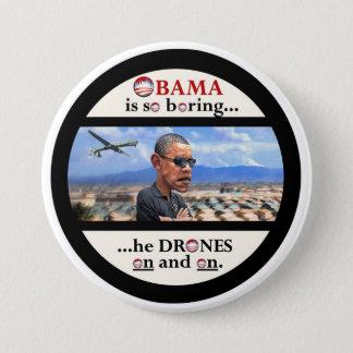 Anti-Obama drone assassin 7.5 Cm Round Badge