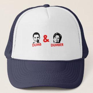 Anti-Obama - Dumb and Dumber Trucker Hat