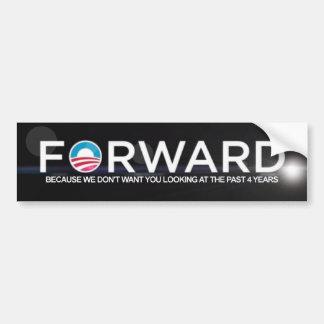 Anti Obama - Forward - 2012 Bumper Sticker