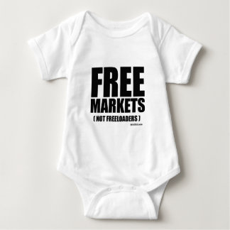 Anti-Obama - Free Markets not Freeloaders T-shirt