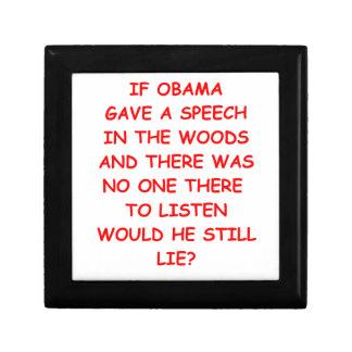 anti obama trinket boxes