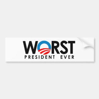 Anti-Obama - Hope he fails Bumper Sticker