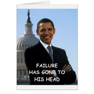 anti obama joke greeting cards