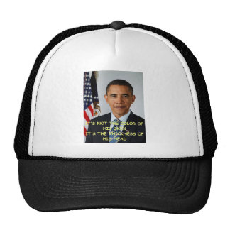 anti obama joke mesh hats