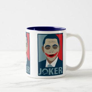 Anti-Obama Joker Two-Tone Mug