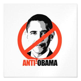 Anti-Obama Magnetic Invitations