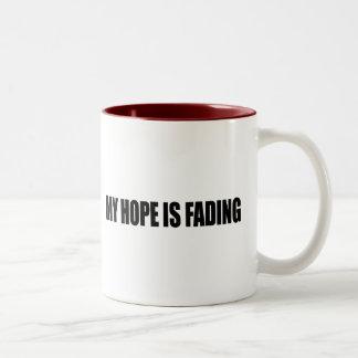 Anti-Obama - MY HOPE IS FADING 3 Mugs