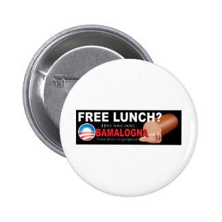 Anti-Obama, No More Boloney! 6 Cm Round Badge