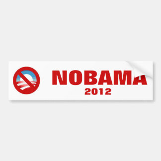 Anti Obama - NOBAMA Bumper Sticker