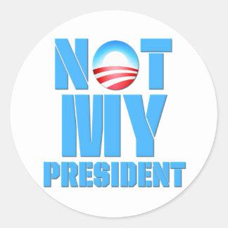 Anti Obama Not My President Stickers