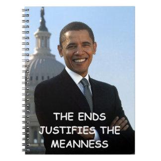 anti obama note books