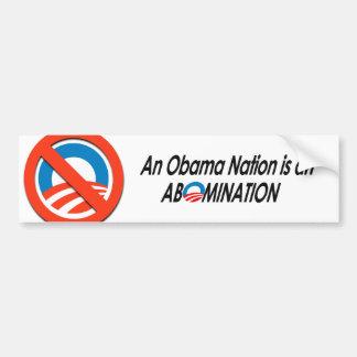 Anti-Obama - Obamanation 2 Bumper Sticker