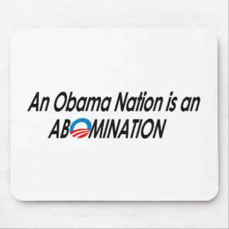 Anti-Obama - Obamanation 2 Mouse Pad