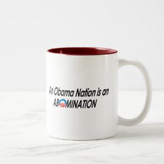 Anti-Obama - Obamanation 2 Mug