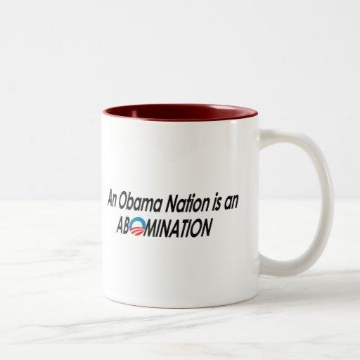 Anti-Obama - Obamanation 2 Coffee Mug
