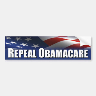 Anti Obama - Repeal OBAMACARE Bumper Sticker