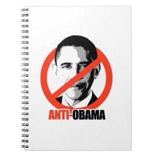 Anti-Obama Spiral Note Book