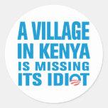 Anti Obama Sticker