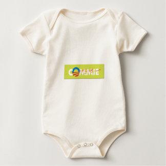 ANTI OBAMA STICKER BABY BODYSUIT