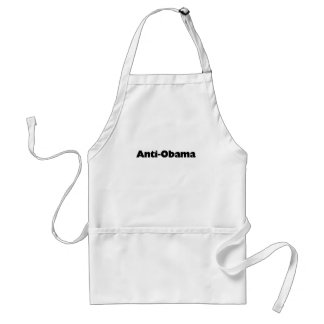 Anti - Obama T-shirt and gift design Apron