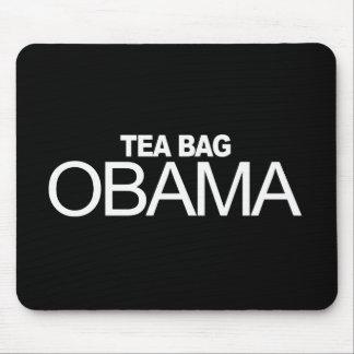 Anti-Obama - Tea Bag Obama Mouse Pad