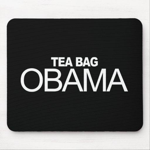 Anti-Obama - Tea Bag Obama Mouse Mat