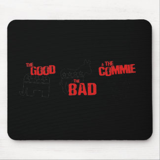 Anti-Obama - The good. The bad. The Commie Mouse Pads