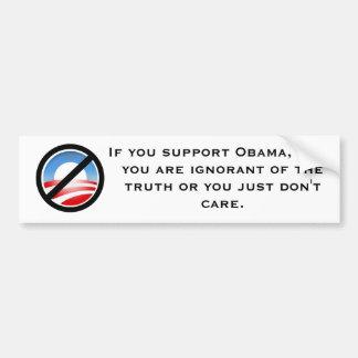anti obama - truth bumper sticker