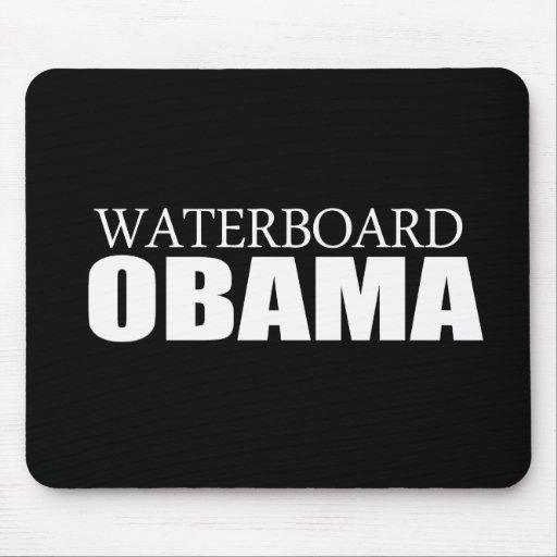 Anti-Obama - Waterboard Obama Mouse Mat