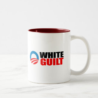 Anti-Obama - WHITE GUILT Mugs
