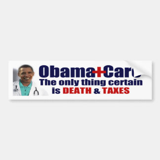 Anti ObamaCare Bumper Sticker