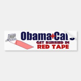 Anti ObamaCare Red Tape Car Bumper Sticker