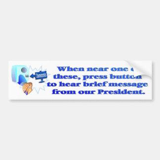 Anti Obamanomics – Obamanomics is Hurting America! Bumper Sticker