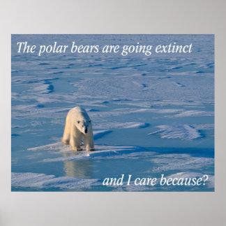 Anti-Polar Bears Poster