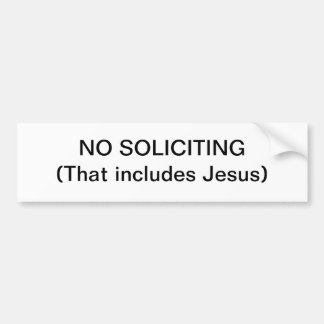 Anti-Preaching Sign Sticker