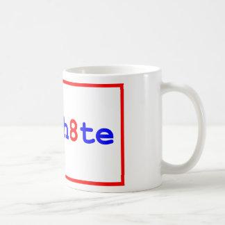 Anti-Proposition 8: stop the h8te Basic White Mug