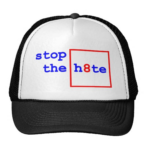 Anti-Proposition 8: stop the h8te Trucker Hat