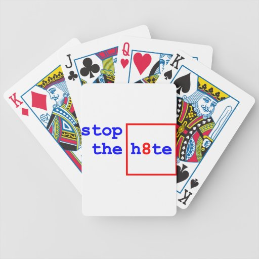 Anti-Proposition 8: stop the h8te Playing Cards