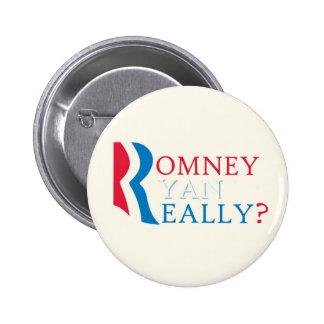 Anti-Romney Ryan 6 Cm Round Badge