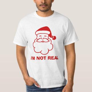 Anti Santa Claus t shirt | I'm not real